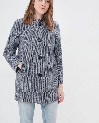 Голубое пальто демисезонное La Reine Blanche