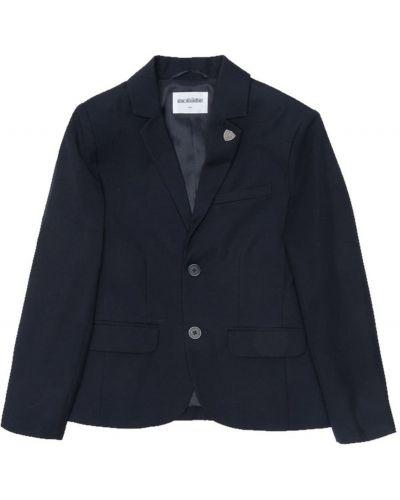 Школьный синий пиджак Acoola