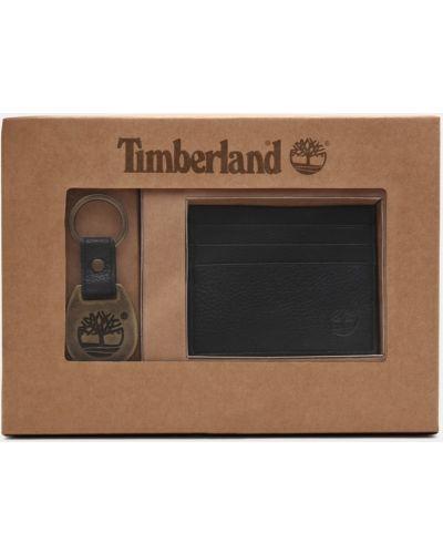 Кожаное кольцо - черное Timberland