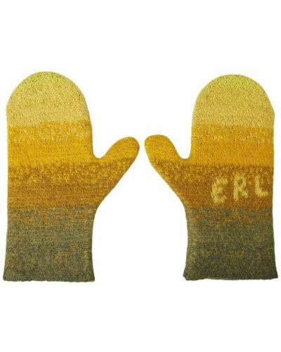 Rękawiczki - żółte Erl