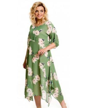 Платье миди с запахом в стиле бохо Novita