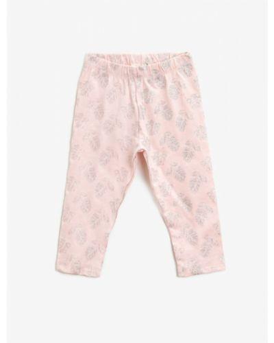 Różowe rajstopy bawełniane Koton