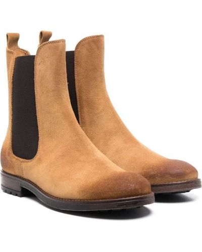 Beżowe ankle boots Gallucci Kids