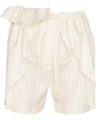 Короткие шорты с бантом Stella Mccartney