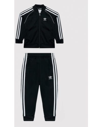 Czarny dres Adidas Originals