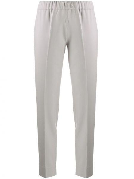 С завышенной талией серые брюки с поясом D.exterior