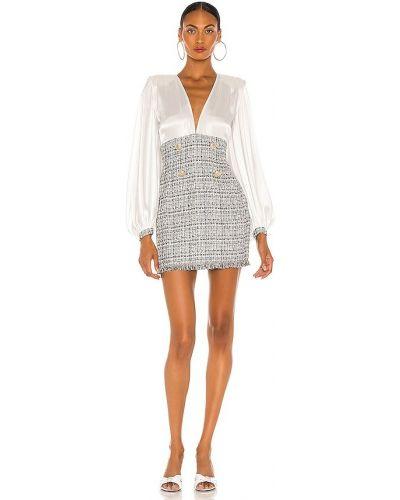 Пляжное белое платье с подкладкой Bronx And Banco