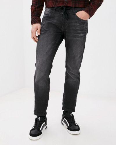 Зауженные черные джинсы-скинни Sublevel