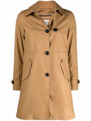 Длинное пальто - коричневое Woolrich