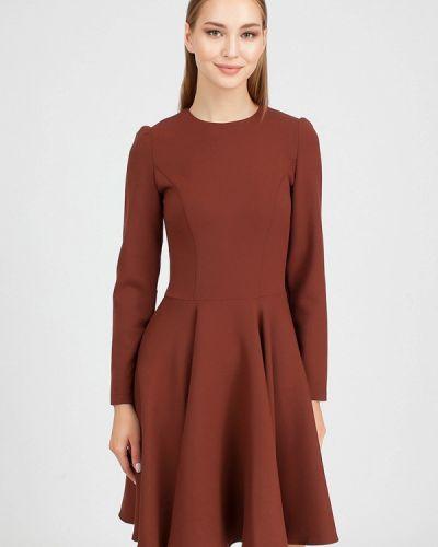 Платье прямое осеннее Serginnetti