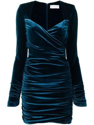 Платье макси длинное - синее Rebecca Vallance
