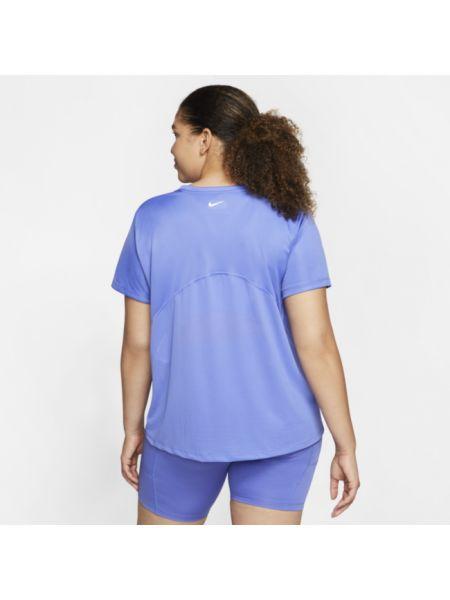 Koszulka polo długo niebieski Nike