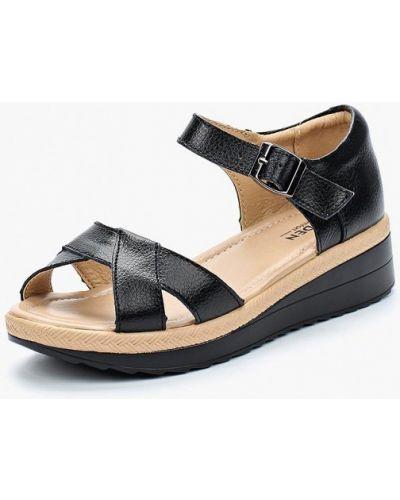 Черные сандалии Zenden Comfort