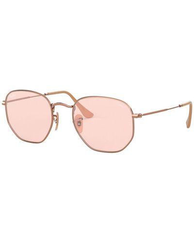 Różowe okulary Ray-ban