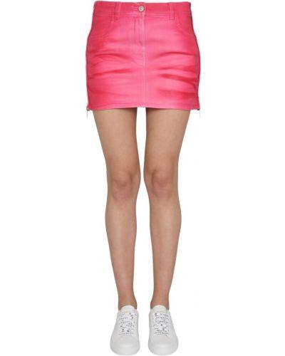 Różowa spódnica mini elegancka Givenchy