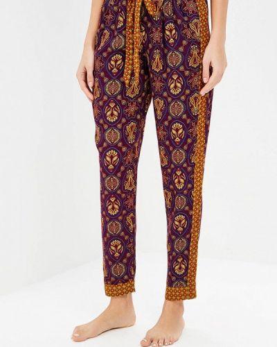 Фиолетовые брюки домашние Deseo