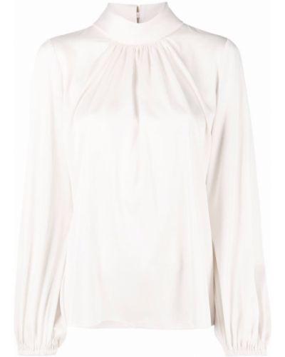 Блузка с воротником - белая D.exterior