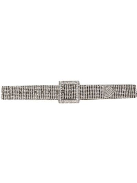 Серебряный ремень с пряжкой с поясом B-low The Belt