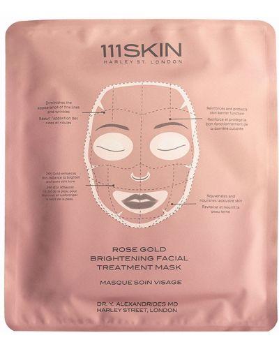 Maska do twarzy skórzany złoto 111skin