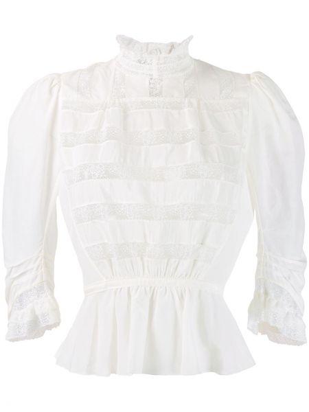 Блузка викторианская с воротником-стойкой Marc Jacobs