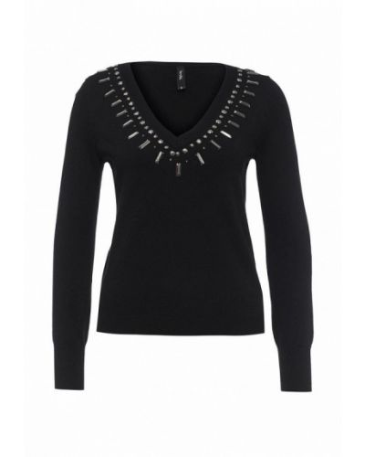 Черный пуловер Bestia
