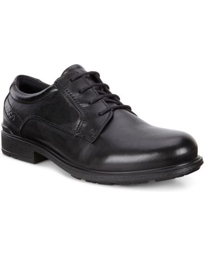 Туфли черные мягкий Ecco