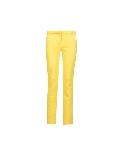 Летние брюки из вискозы желтый Iceberg