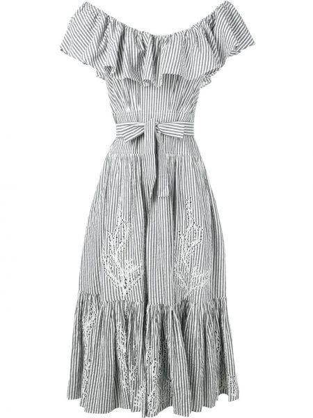 Платье мини миди с вышивкой Tory Burch