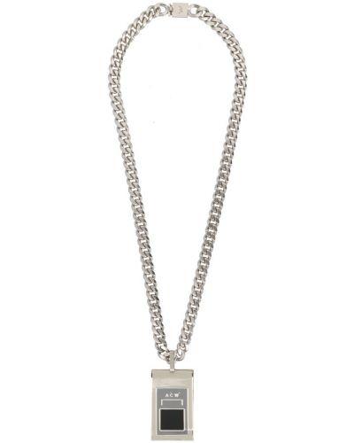 Szary naszyjnik srebrny A-cold-wall*