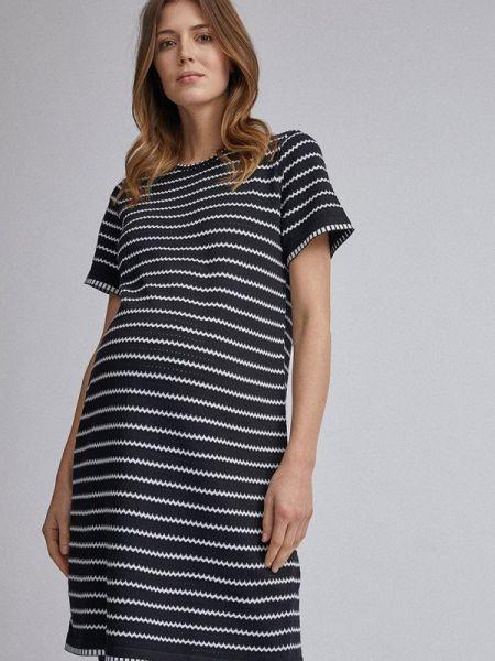 Платье для беременных черное весеннее Dorothy Perkins Maternity