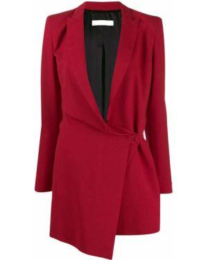 Платье макси с V-образным вырезом платье-пиджак Philosophy Di Lorenzo Serafini