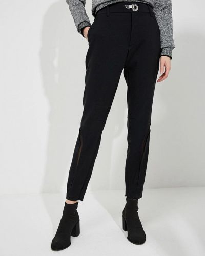 Брюки итальянский черные Versace Jeans