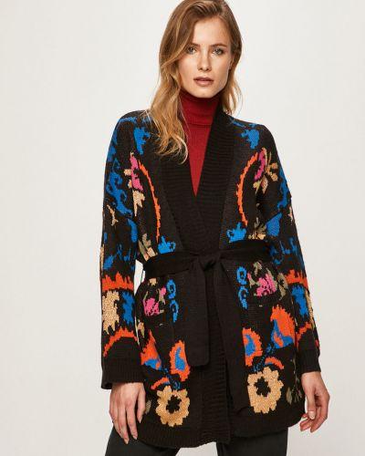 Черный акриловый свитер Desigual