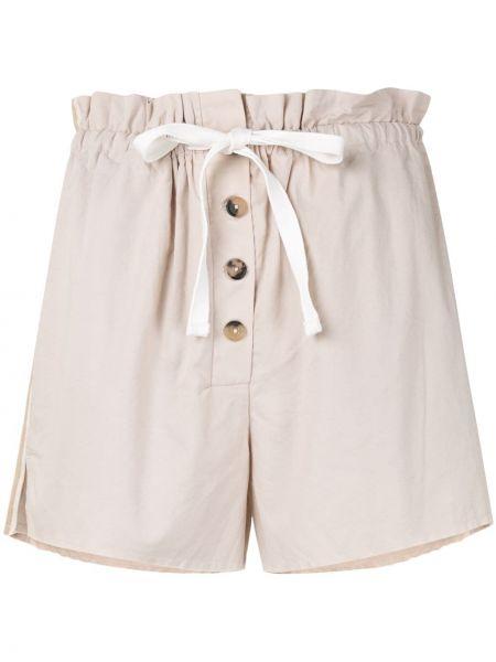 Однобортные шорты с карманами на пуговицах Venroy