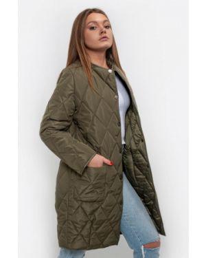 Зеленая теплая куртка Dasti