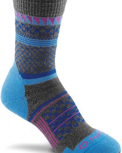 Серые шерстяные спортивные носки Foxriver
