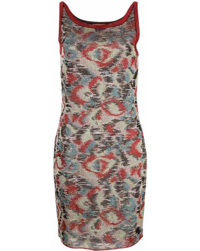Платье в рубчик прямое Missoni