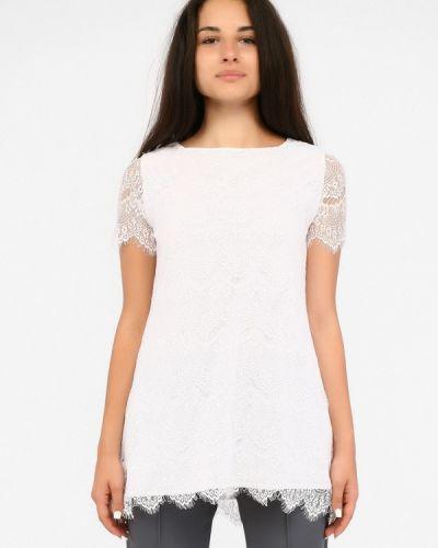 Блузка кружевная белая Sfn