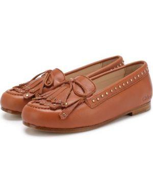 Мокасины для обуви кожаные Chloé