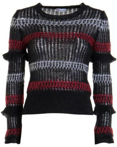 Czarny sweter Red Valentino