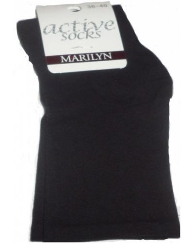 Czarne skarpety bawełniane Marilyn