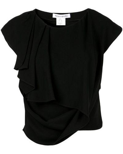 Футбольная черная футболка Bianca Spender