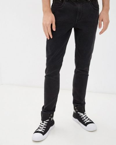 Серые зимние зауженные джинсы Ovs