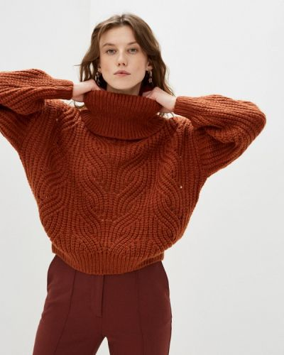 Коричневый свитер By Swan