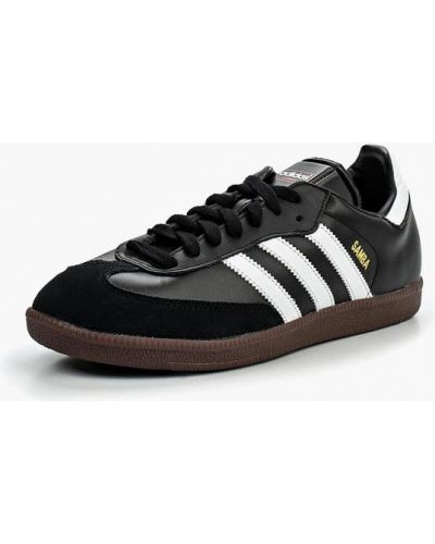 Черные бутсы зальные Adidas