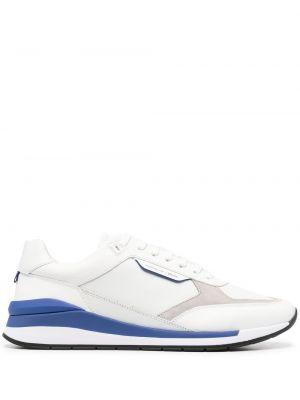 Кожаные кроссовки - белые Boss Hugo Boss