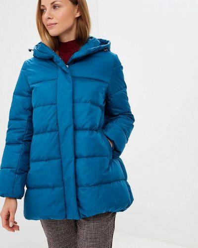 Зимняя куртка осенняя синий Sela