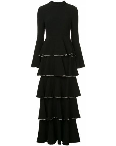 Платье с длинными рукавами с вырезом Rachel Zoe