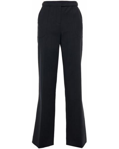 Прямые черные брюки с карманами Ba&sh
