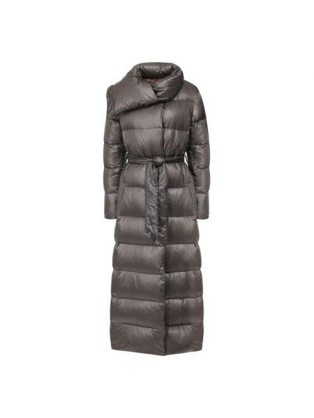 Длинное пальто стеганое с воротником Eleventy